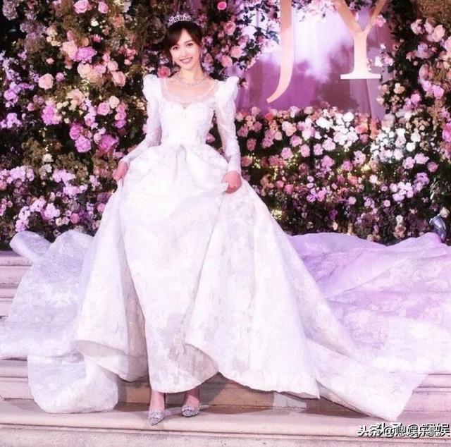 公主出嫁才会拥有的浪漫,黄晓明baby婚礼照片大集锦