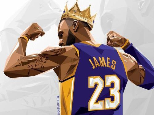 詹姆斯打籃球圖片高清
