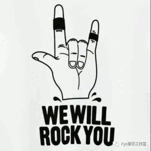 摇滚乐队专辑海报