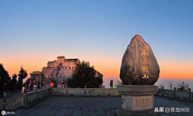 中国6大道教名山:武当山最有名,华山景最美