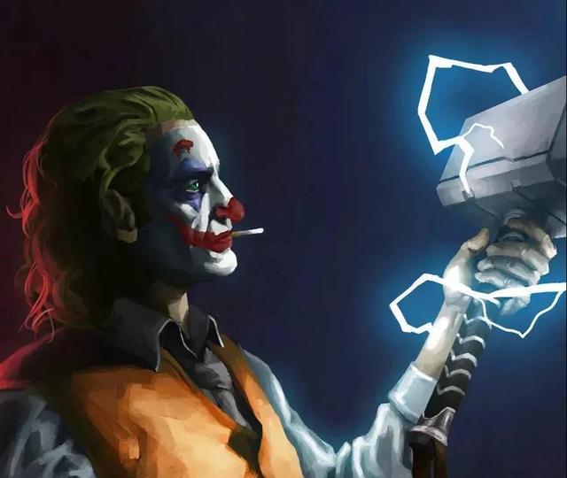 小丑男和小丑女高清