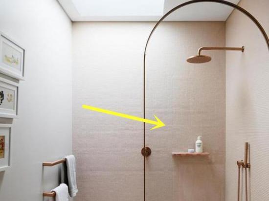 淋浴房磨砂玻璃效果图