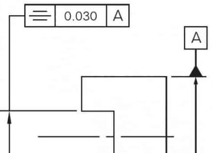 圆柱度标注示意图