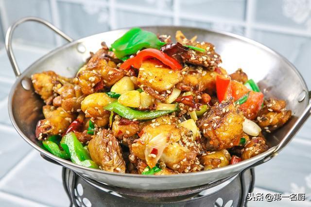 干锅鸡的做法_干锅鸡怎么做_菜谱_美食天下