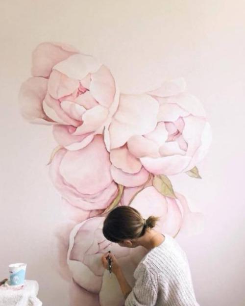 墙面手绘装饰让家里活色生香 六款案例效果图参考