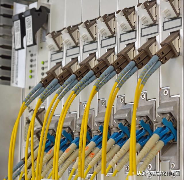 宽带网线插座接法图解