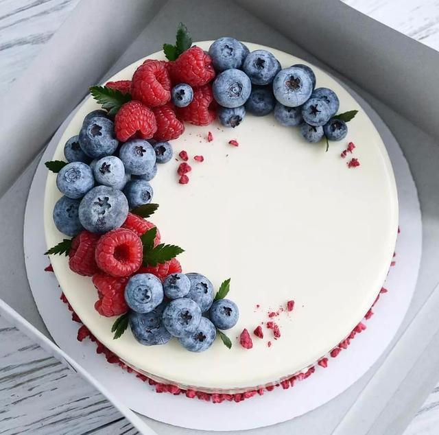 藍莓季 藍莓蛋糕美極了!