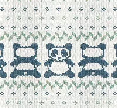 12款动物编织提花图案,近百款复古提花,给孩子织件专属毛衣!
