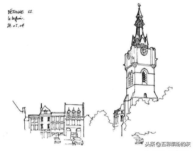 素描别墅图片_素描别墅素材_素描别墅模板免费下载-六图网