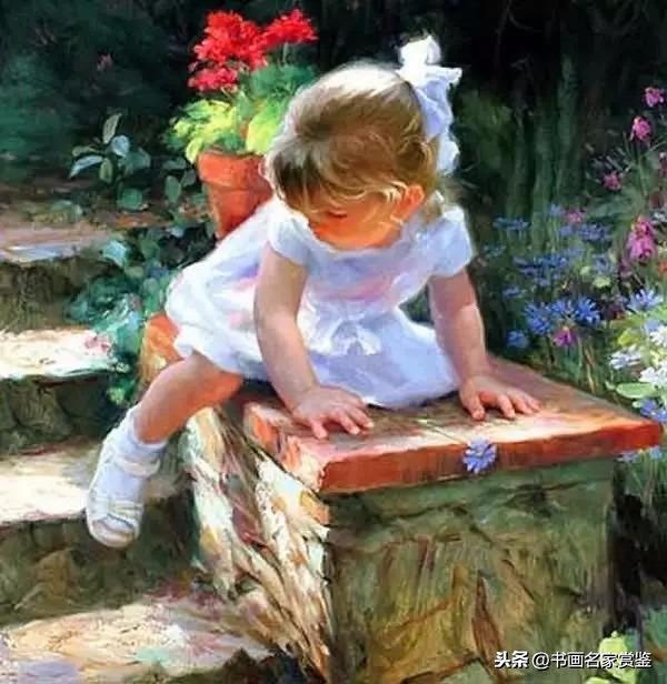 少儿手工小油画,宝妈假期带孩子一起画,2-7岁最适合!