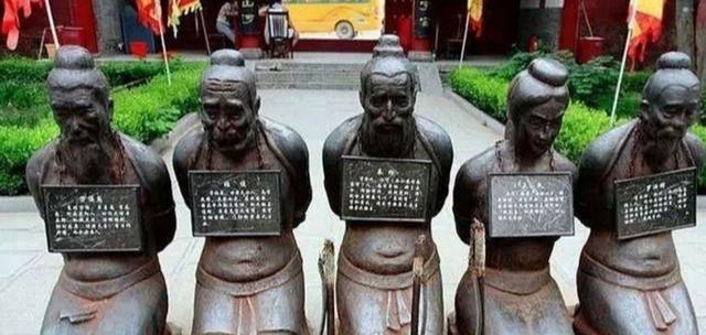 秦桧书法5幅:字是好字,人非好人,书法地位好尴尬!