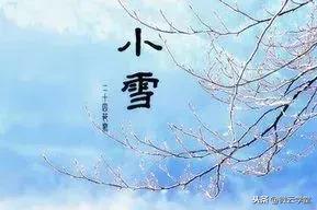今日小雪|30首小雪诗词:暖冬似春华,小雪闲中过