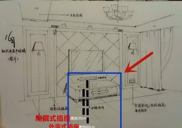 家装水电设计图纸