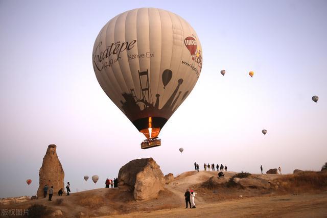 土耳其热气球图片大全