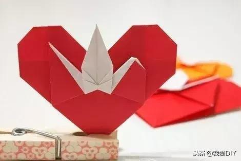 心形的折纸方法步骤图解_百分百知识分享平台