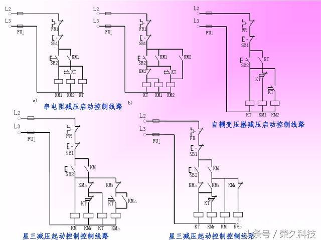 plc简单编程及接线图