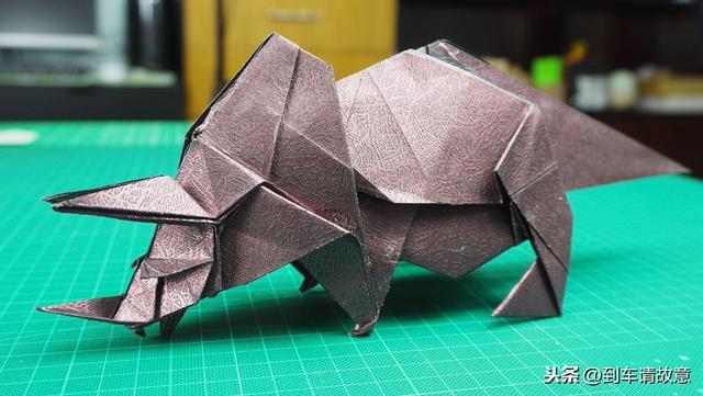 龙怎么折纸大全三角插
