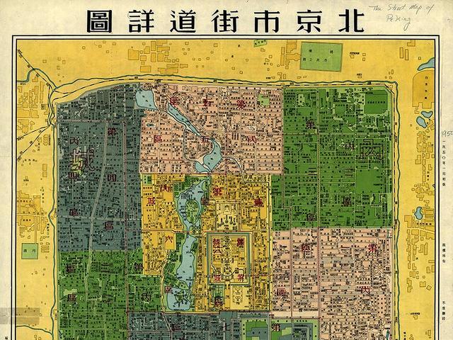 北京景点地图