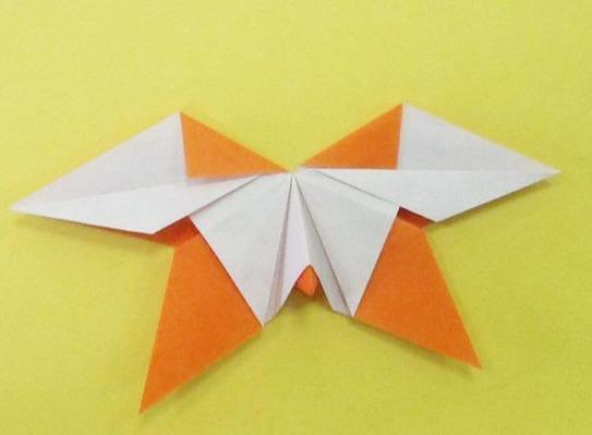 六一儿童节,手把手教孩子学折纸:蝴蝶折纸