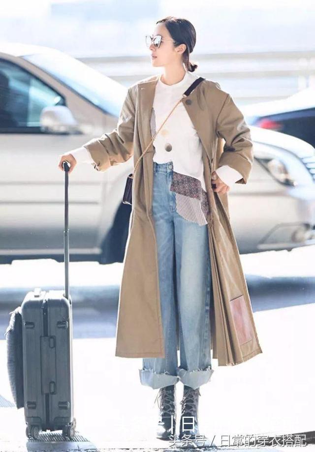 大衣+阔腿裤,才是真时髦!