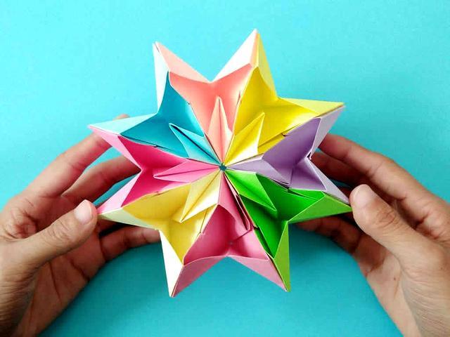 如何做一个折纸心-爱心折纸的步骤图解 - 5068儿童网