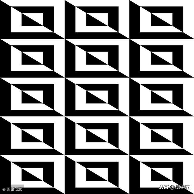 平面构成设计中的重复手法有哪些_勤学教育