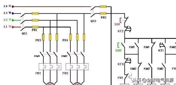 plc接线与梯形图