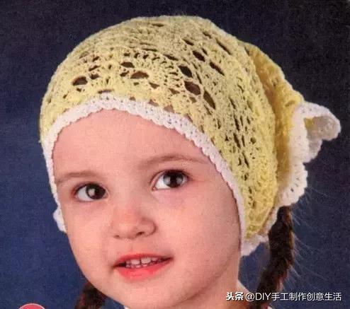 女式帽子编织花样图解