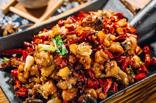 辣味的菜系菜图