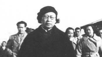 1942年, 汪伪汉奸汪夫人陈璧君探望童子军