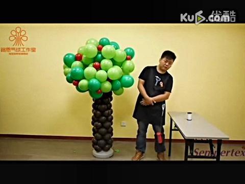 生日宴魔术气球4魔术气球学习培训(7)4魔法气球的做法