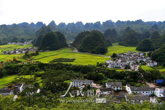 贵州兴义万峰林风景图片 第10张 尺寸:5651x3771 (天堂图片网)