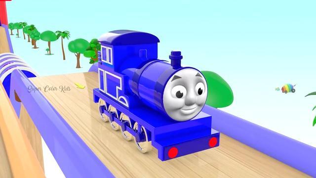 托马斯:会漂移的小火车,不愧是托马斯,太厉害了!
