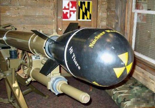 世界最小的原子弹只有篮球大小:M-388核炮弹装甲兵团的克星