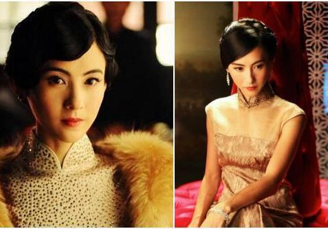 张曼玉旗袍照片