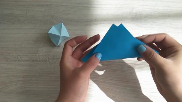儿童折纸大全图解_立体钻石 - 5068儿童网