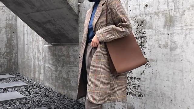 新款格子毛呢外套【多图】_价格_图片- 天猫精选