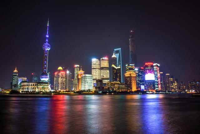 上海夜景航拍