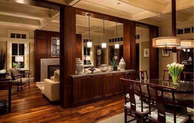 玄关与客厅巧用隔断,时尚又实用