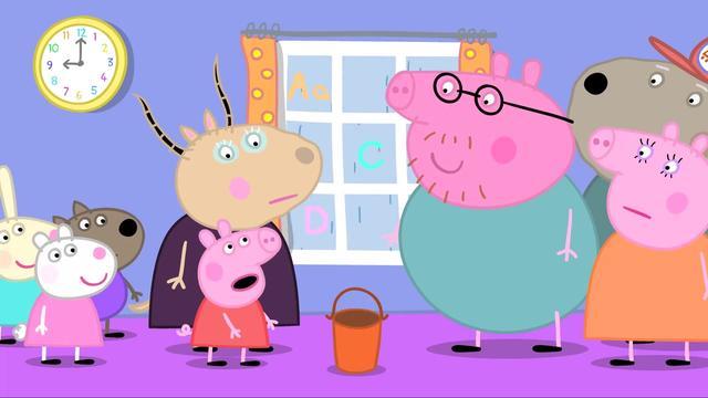 小猪佩奇猪爸爸单独