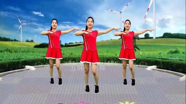 乔茜广场舞《相伴一生》32步水兵风格附教学_广场舞... - 糖豆网