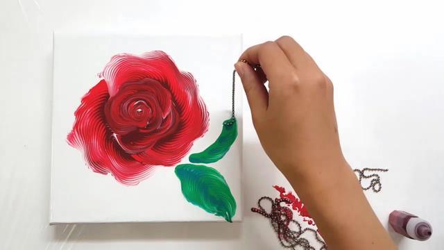简单的花怎么画