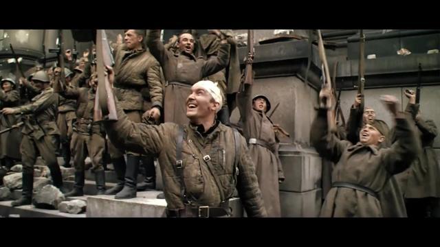 这才是真正的史诗级战争大片,苏军攻入国会大厦,柏林战役结束