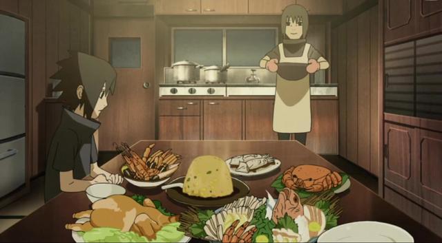 火影:鼬真是个好男人,佐助肚子叫了,鼬做了一桌好菜