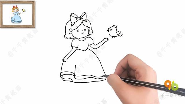 可爱迪士尼公主头像