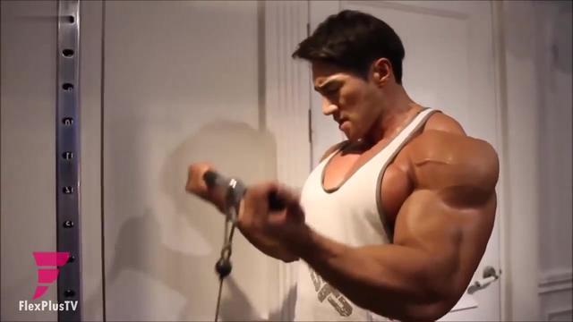 【牛男健身】韩国肌肉猛男肩膀锻炼励志片