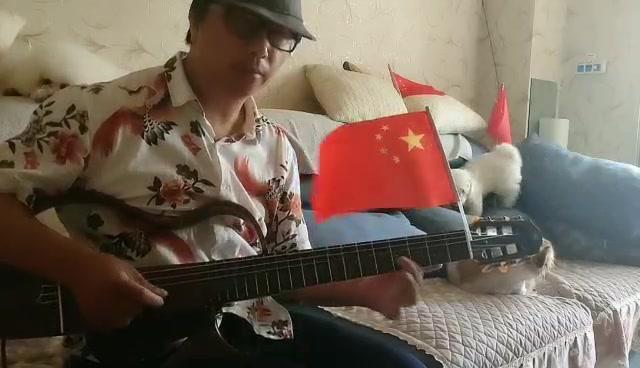 静音吉他弹奏《在那银色的月光下》