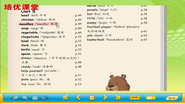 人教版小学英语四年级单词表(带有音标)-_蚂蚁文库