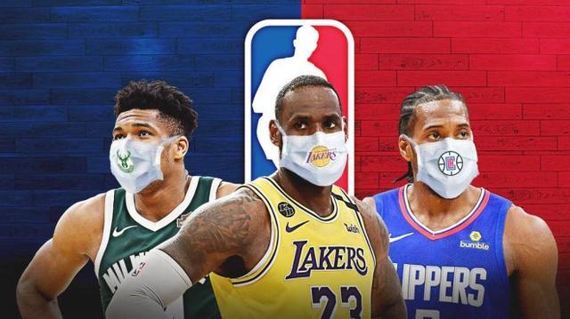 351人檢測25人陽性!NBA公佈最新數據,出局的8隊也有比賽打了?