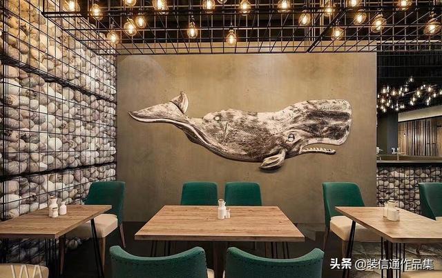 火爆的主题餐厅装修设计效果图赏析
